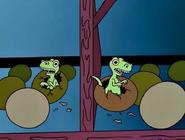 Динозавры между этажами