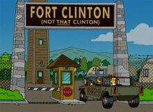 Fort clinton exército
