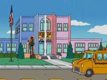 Escola dividida rosa azul