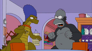 King Homer vs Bridezilla