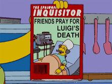 Luigi morto o inquisitor