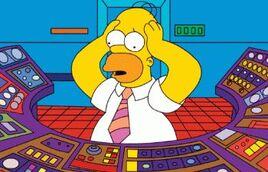 Homer al lavoro