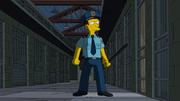 Jack como guarda na prisão
