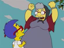 Milhouse idiota nona sofia