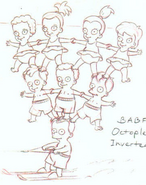 Octuplets Water Skiing (Official Sketch)