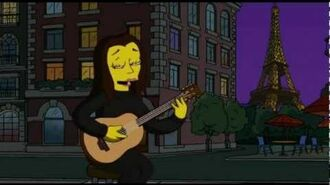 Anne Hathaway - Moon River (The Simpsons Season 21 EP10)
