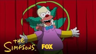 Krusty The Clown Takes The Stage Season 29 Ep. 14 THE SIMPSONS