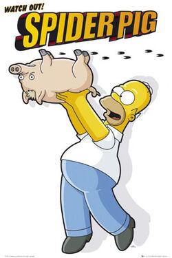 Poster spider-pig