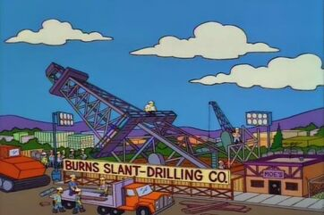 Slant drilling