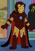 Dracula as Iron Man