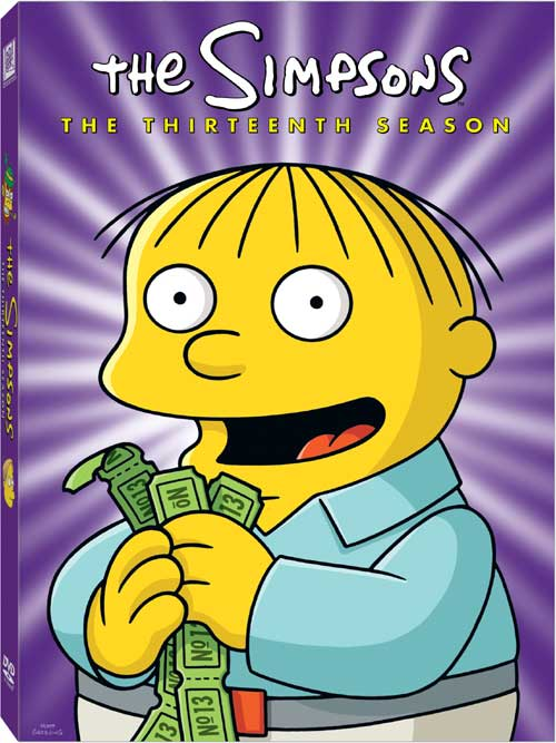 Thesimpsons s13 dvd