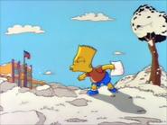 Bart spits