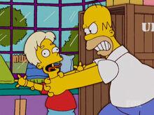 Homer estrangula roboboy