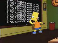 Lisa's Sax Chalkboard Gag