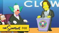 "Roasting Krusty from ""Clown In The Dumps"" THE SIMPSONS ANIMATION on FOX"