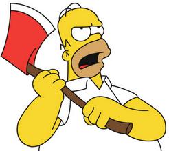 Homer J Simpson