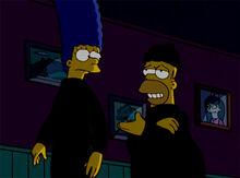 Marge homer ladrões colchão