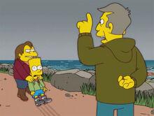 Nelson puxa bart litoral skinner