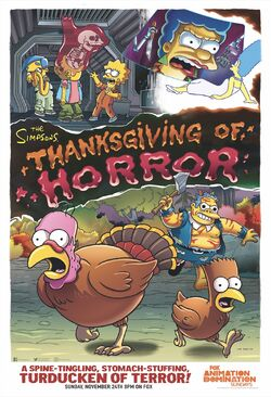 Thanksgiving of Horror poster