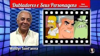 Waldyr Santanna - Dubladores e Seus Personagens