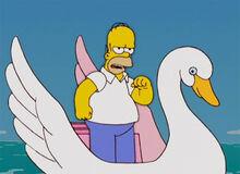 Homer valente pedalinho