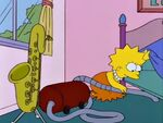 Lisa vacuuming