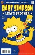 Bart Simpson-Lisa's Brother