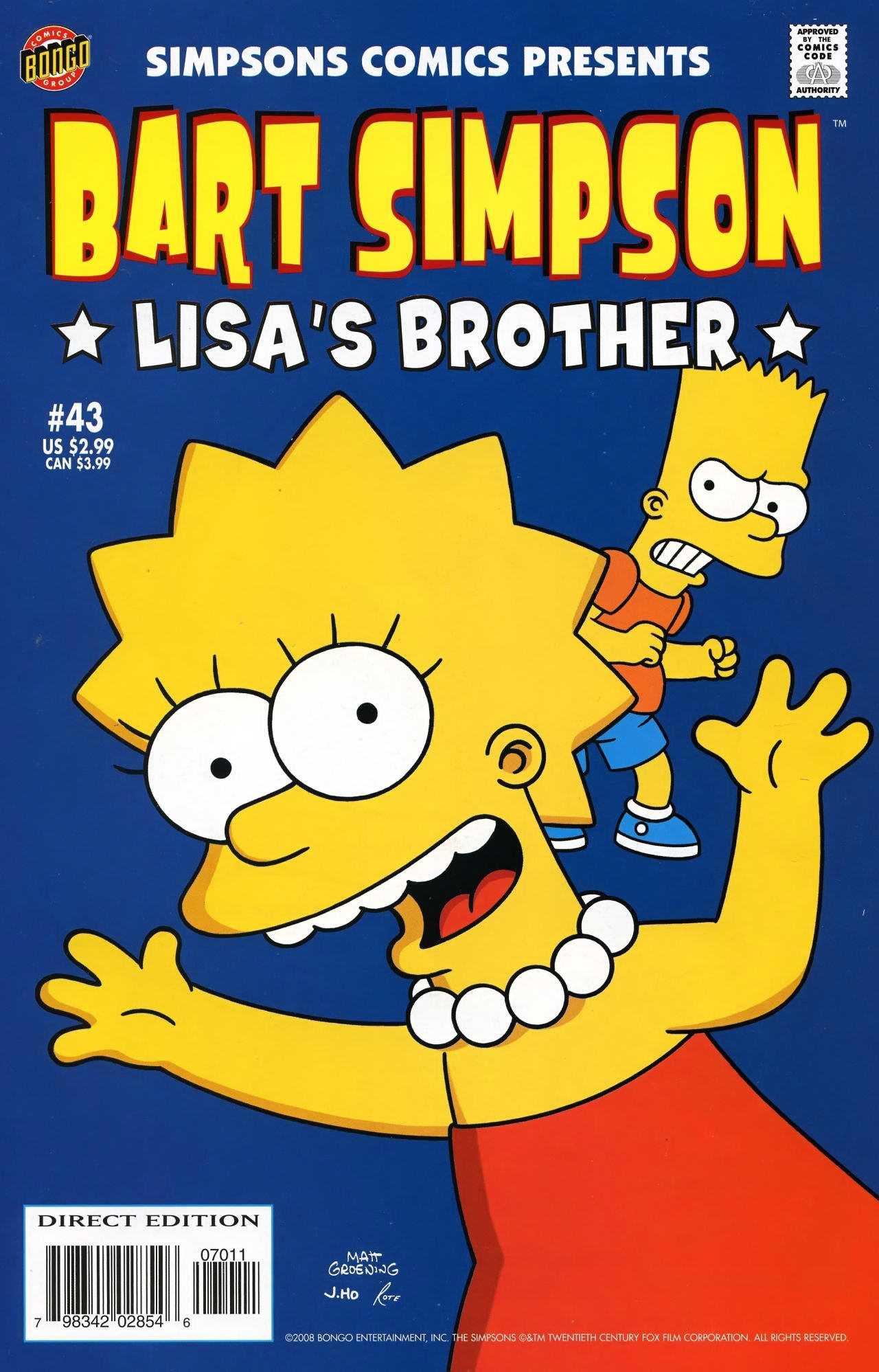 lisa and bart sex comic