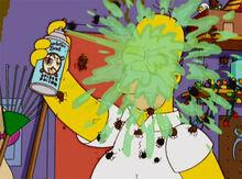 Homer veneno aranhas