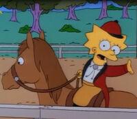 Lisa na kucyku