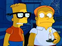 Martin i Bart w kryjówce