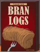 Toasted Bran Logs