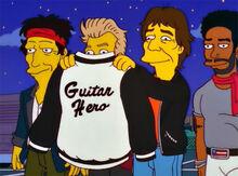 Jaqueta guitarhero homer