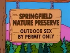 Springfield Nature Preserve (Alone Again, Natura-Diddily)
