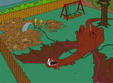 Castelo papelão 18x15 dragão fim