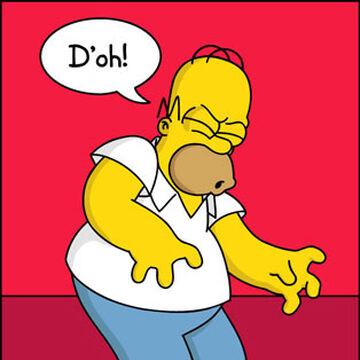 D'oh | Simpsons Wiki | Fandom