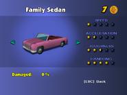 Family Sedan (menu)