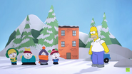 South Park Simpsons