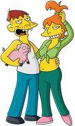 Cletus e Brandine Spuckler