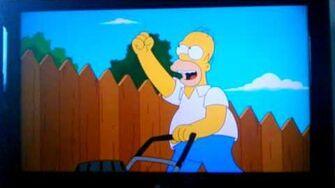 The Simpsons Homer thinks he's a school hero-0