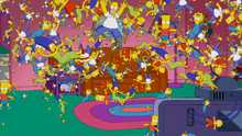 Flowers Couch Gag