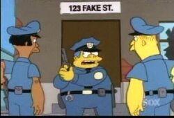 Fake street 123 12x18