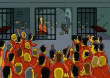 Homer motim prisão