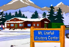 Mt.Useful visitors center