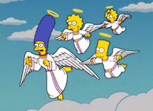 Simpsons anjos