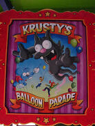The Simpsons Ride Krusty's Balloon Parade Poster