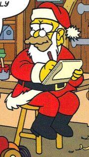 Abe As Santa