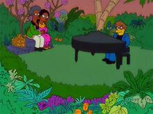 Elton john piano jardim apu
