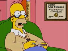 Homer conselheiro matrimonial