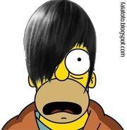 Homer simpson emo
